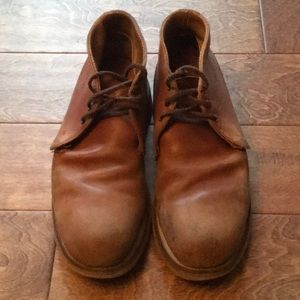 Red Wing Steel Toe Chukka Boots